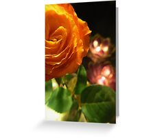 glowing in shades Greeting Card