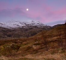 Dawn at Meall nan Tarmachan by Cliff Williams