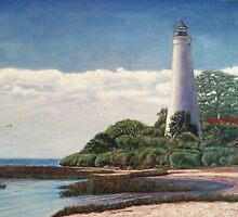 Florida Lighthouse by Cathy McGregor