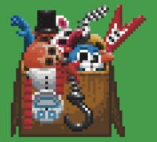 Five Nights at Freddy's 3 - Pixel art - What can we use? - Box of animatronics Kids Clothes