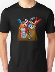 Five Nights at Freddy's 3 - Pixel art - What can we use? - Box of animatronics T-Shirt