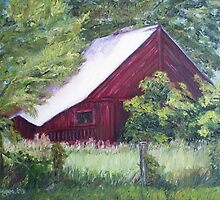 Red Barn II by Cathy McGregor