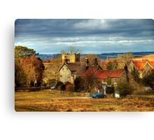 The Village of Goathland Canvas Print