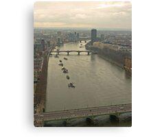 Warming London Canvas Print