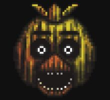 Five Nights at Freddy's 3 - Pixel art - Phantom Chica Kids Clothes