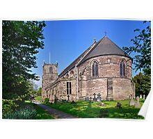 St Mary's Church, Tutbury Poster