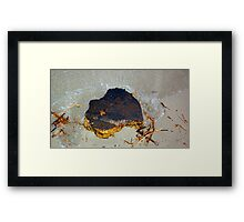 Australia Rock Framed Print