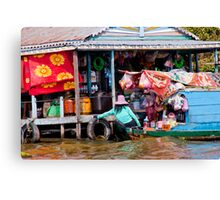 The Flowing Heart of Cambodia Canvas Print