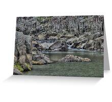 The Gorge river launceston Greeting Card