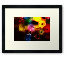 Flame on Odilon Framed Print