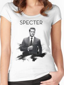 Awesome Series - Specter Women's Fitted Scoop T-Shirt