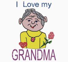 I Love My Grandma.. by supernan