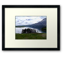 MIddle Waterton Lake Framed Print