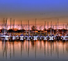 Boats at Rest by Scott Lebredo