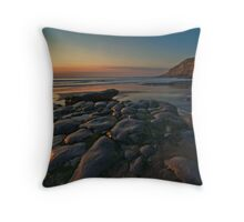 Dunraven Bay, Southerndown Throw Pillow