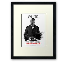 Awesome Series - White Framed Print