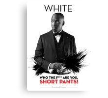 Awesome Series - White Canvas Print