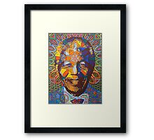 mandela - 2011 Framed Print