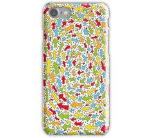 Colourful Spiraled Arrows iPhone Case/Skin