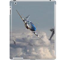 P51  - Top Gun - 1944 Version (P51 v Bf109) iPad Case/Skin
