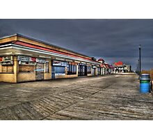 Rehoboth Beach Boardwalk, Late January Photographic Print