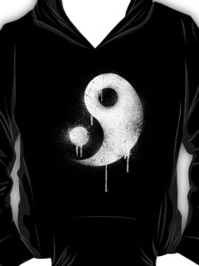 Graffiti Zen Master - Spray paint yin yang T-Shirt