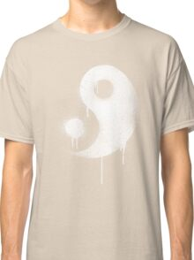 Graffiti Zen Master - Spray paint yin yang Classic T-Shirt