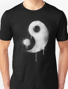 Graffiti Zen Master - Spray paint yin yang Unisex T-Shirt