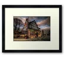 Old Silk Mill Framed Print