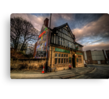 Old Silk Mill Canvas Print