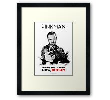 Awesome Series - Pinkman Framed Print