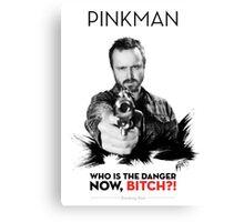Awesome Series - Pinkman Canvas Print