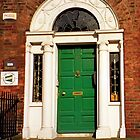Dublin doors - the green one by bubblehex08