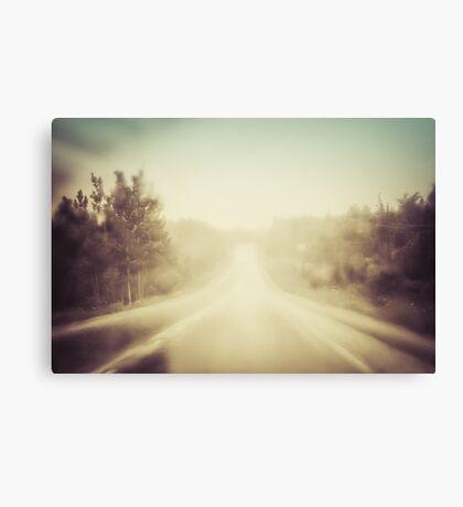 Rain Road Canvas Print