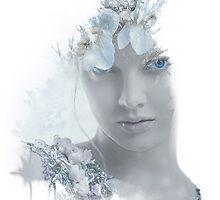 Ice Maiden Double Exposure by GekiDesign