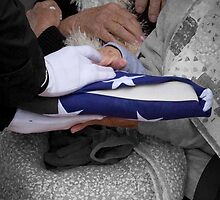 Hands Of Grief - A Patriot Goodbye by Sherry Hunt