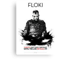 Awesome Series - Floki Canvas Print