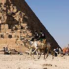 Giza  Pyramid Patrol by JamesTH