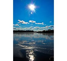 Beautiful day in Schaumburg, IL  Photographic Print