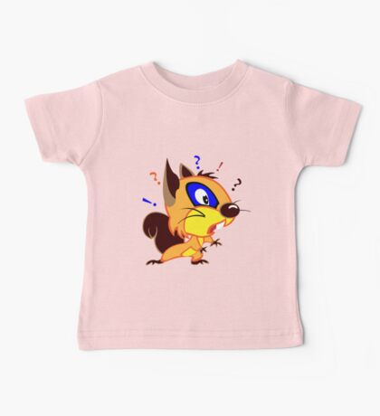 Funny Squirrel Baby Tee