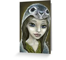Selkie Greeting Card