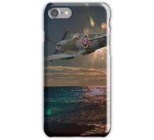 Fly past portland bill iPhone Case/Skin