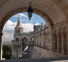 Fishermans Bastion Budapest by Cliff Williams