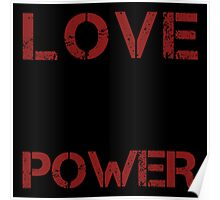 Love Power Poster