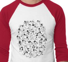 So Many Wanders (2) Men's Baseball ¾ T-Shirt