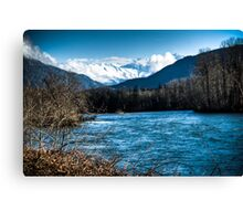 Skagit River, WA Canvas Print