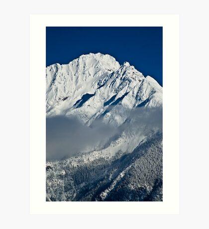 Mountain-WA Art Print