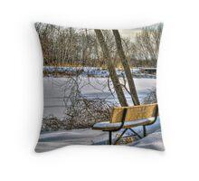 Winter Serenity Throw Pillow