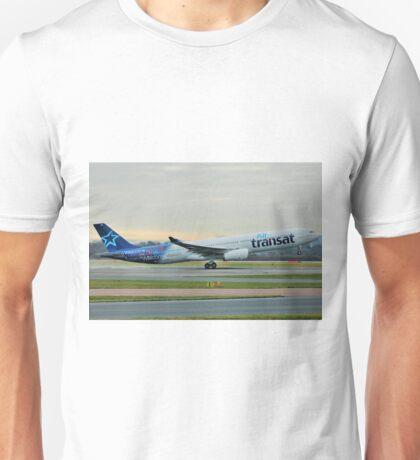 C-GTSO Air Transat Airbus A330 Unisex T-Shirt
