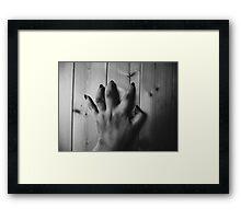 bitter. Framed Print